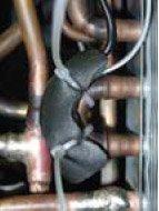 Фото 5. Дополнительная теплоизоляция повышает точность показаний сенсора